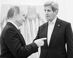 Джон Керри приехал в Москву не на гитаре сыграть и шутками обменяться (фото: Сергей Гунеев/РИА Новости)