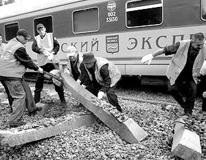 Поезд «Невский экспресс» был подорван самодельным взрывным устройством на участке Бурга – Малая Вишера, что находится в Новгородской области