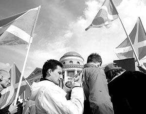 Под запрет попало запланированное на ближайшее воскресенье уличное шествие молодежного движения «Наши»