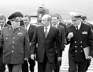 Президент России Владимир Путин в среду прибыл на Камчатку