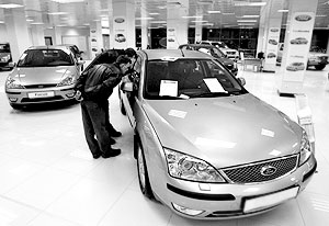 С начала года в России было продано более 1 млн машин иностранного производства