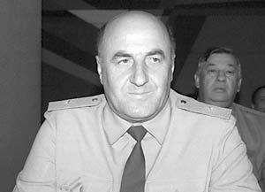 Начальник ГУВД Москвы Владимир Пронин