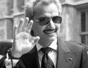 Принц Аль-Валид бен Таляль слывет хозяином богатств на 18 млрд долларов