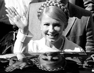 Сила Юлии Тимошенко, как у библейского пророка Самсона, кроется в волосах