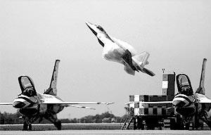 Новейший американский истребитель F-22A Raptor