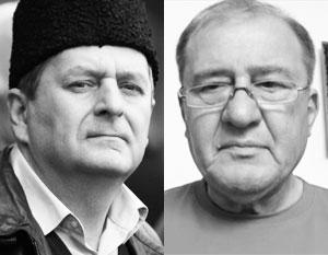 Помилованные в России Ахтем Чийгоз (слева) и Ильми Умеров уже в четверг ожидаются на Украине
