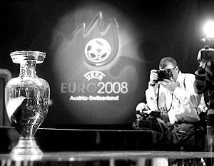 Финальный турнир кубка Европы – 2008 пройдет 7–29 июня в Австрии и Швейцарии