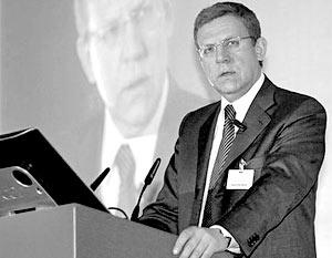 Задал тон дискуссии министр финансов Алексей Кудрин