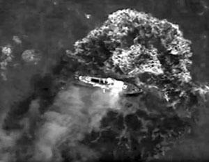 Российские истребители показали ВМС Украины свои