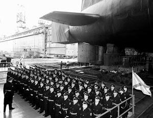 Ракетный подводный крейсер стратегического назначения «Юрий Долгорукий»