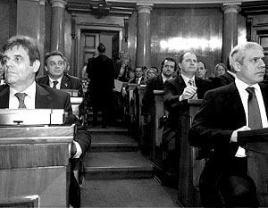 Народная Скупщина (парламент) после многочасовых прений большинством голосов приняла специальную резолюцию