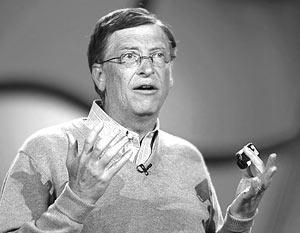 Глава корпорации Microsoft Билл Гейтс