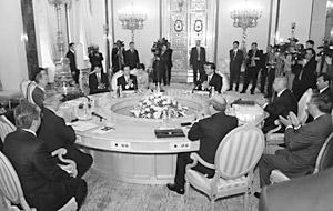 На заседании делегаций стран Шанхайской организации сотрудничества