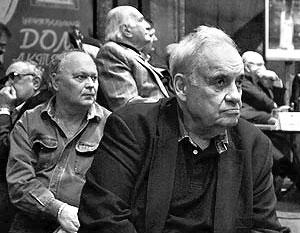Народный артист СССР, кинорежиссер Эльдар Рязанов