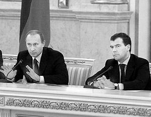 Дмитрий Медведев, подобно Владимиру Путину, стал для соотечественников «кандидатом надежды»