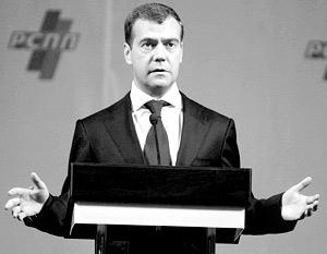 Первый вице-премьер Дмитрий Медведев раскрыл еще одну часть своей предвыборной программы