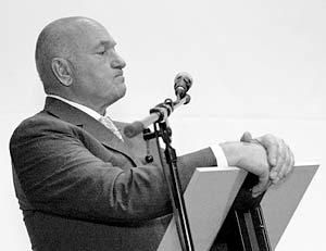 Мэр Москвы Юрий Лужков