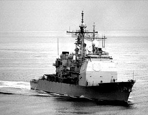 ВМС США обстреляли корабль, пытавшийся доставить на борт буксира «Свитцер Корсаков» запасы продовольствия