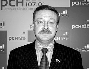 Константин Косачев заявил о том, что Россия считает крайне опасным демографический сценарий перераспределения территорий по образцу Косова