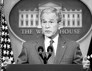 По мнению Джорджа Буша, поддержание личных дружественных отношений с представителями российской власти полностью отвечает интересам США