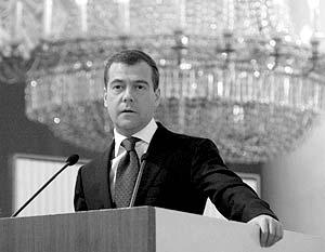 Дмитрий Медведев конкретизировал эту программу