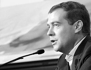 За Дмитрия Медведева проголосовали 70,28% российских избирателей