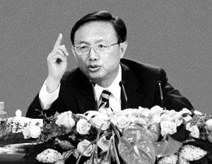 Министр иностранных дел КНР Ян Цзечи выступил на пресс-конференции, дабы прояснить основные векторы внешней политики Поднебесной