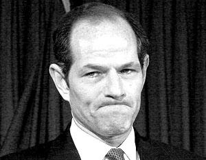 Губернатор штата Нью-Йорк Элиот Спитцер добровольно ушел в отставку