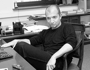 Автор романа «Близнецы» Демьян Кудрявцев