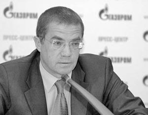 Зампредправления Газпрома Александр Медведев