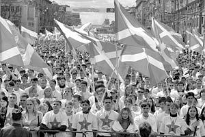 Наиболее громким молодежным проектом стали непартийные «Наши»