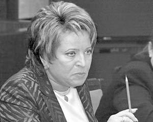Губернатор Санкт-Петербурга Валентина Матвиенко