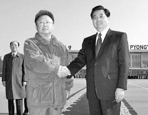 Лидеры Северной Кореи и Китая