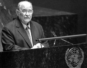 Новый председатель Генассамблеи экс-министр иностранных дел Никарагуа Мигель д'Эското Брокман