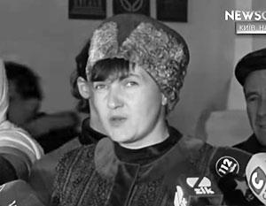 Нетрудно догадаться, кого конкретно Надежда Савченко видит в своих мечтах новым гетманом Украины