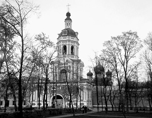 Vol dans Donskoy monastère a eu lieu dans la nuit du 6 Novembre