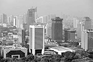 Столица Индонезии Джакарта за 12 лет просела на глубину до метра