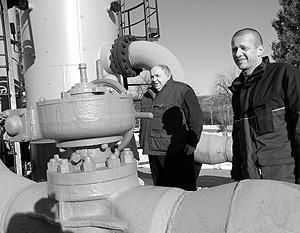 12 janvier. Les observateurs de l'UE à la gare gazoizmeritelnoy «Drozdovichi» à la frontière polono-ukrainienne