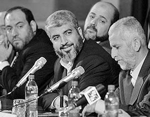 Пресс-конференция делегации «Хамаса»