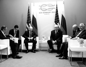 Первая личная встреча президентов России и США Владимира Путина и Дональда Трампа стала историческим событием мирового значения