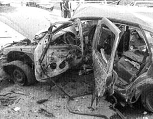 Под машину было заложено взрывное устройство – «все днище разнесено»
