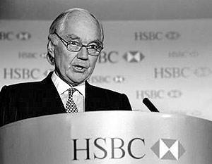 Глава HSBC Group сэр Джон Бонд
