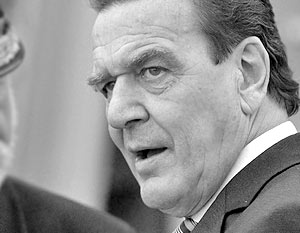 �кс-канцлер Германии Герхард Шредер