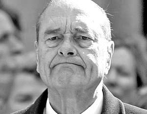 Жак Ширак принял решение заменить статью закона о равенстве шансов
