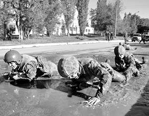 В Грузии сбежали из части 70 спецназовцев