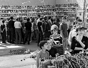 В Беслане оплакивают погибших во время теракта 2004 года