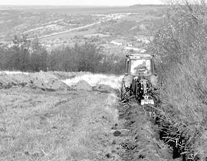 Украина отгородится от России 400-километровым рвом