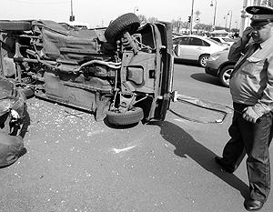 При крупном ДТП на Кутузовском проспекте тяжело пострадали 4 человека