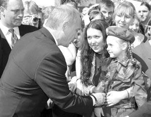Россияне доверяют президенту