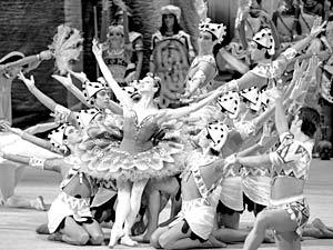 Сцена из балета Большого театра «Дочь фараона»